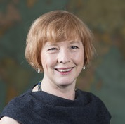 Head and shoulders of Penny Russell