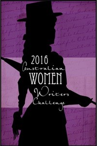 Logo of the Australian Women Writers' Challenge 2016
